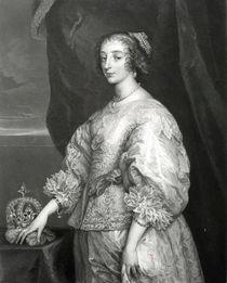 Queen Henrietta Maria, 1851 von Anthony van Dyck