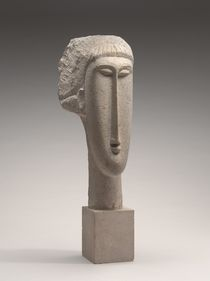 Head of a Woman, c.1910-1911 von Amedeo Modigliani
