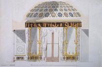 Design for the Jasper Cabinet in the Agate Pavilion at Tsarskoye Selo von Charles Cameron