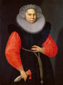 Portrait of a Woman, 1600 by Dutch School