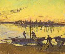 Unloaders in Arles, 1888 von Vincent Van Gogh