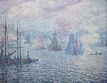 The Port of Rotterdam, or The Fumes von Paul Signac