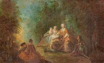 Gallant Reunion von Jean-Baptiste Joseph Pater