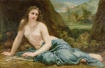 The Penitent Magdalene, 1858 von Paul Baudry