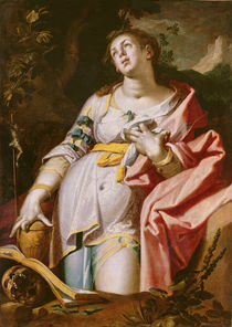 Mary Magdalene in Ecstasy, 1619 by Abraham Bloemaert