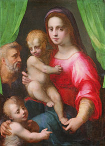 Holy Family by Domenico Puligo
