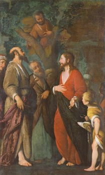 Conversion of Zaccheus von Bernardo Strozzi