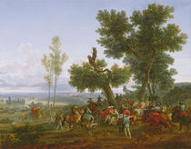 The Meeting of Henry IV, King of France and Navarre by Nicolas Antoine Taunay