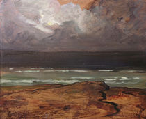 Storm at Sea, Brittany by Charles Cottet