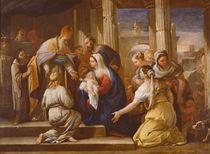 Presentation at the Temple von Luca Giordano