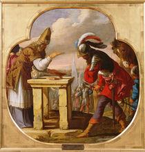 The Meeting of Abraham and Melchizedek by Laurent de La Hire or La Hyre