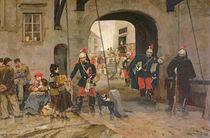 The Poor in Paris, 1886 by Marius Roy