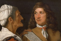 A Young Man and the Procuress von Michael Sweerts