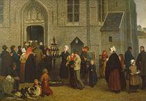 Pilgrimage to Diegem von Charles de Groux