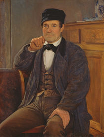 Portrait of the father of the artist by Louis Pion