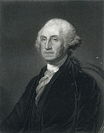 George Washington, 19th Century von English School