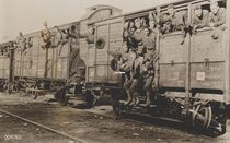U.S. Marines in France off for camp by American Photographer