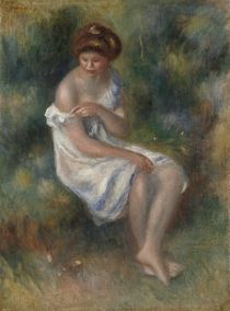 The Bather, c.1900 by Pierre-Auguste Renoir