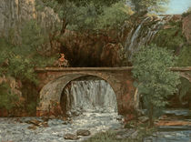 The Great Bridge, 1864 by Gustave Courbet