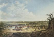 A View of Hampstead Heath Looking Towards London von Francis James Sarjent