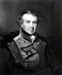 Portrait of Sir Hew Whitefoord Dalrymple von John Jackson