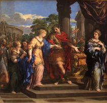 Caesar giving Cleopatra the Throne of Egypt by Pietro da Cortona