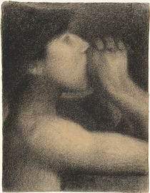 Echo, Study for ' Bathers at Asnieres' by Georges Pierre Seurat