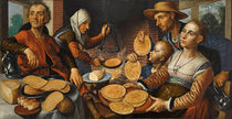 The Pancake Bakery, 1560 by Pieter Aertsen