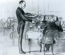 Series 'Croquis Parisiens' von Honore Daumier