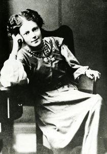 Mary Eleanor Gawthorpe c.1909 by English Photographer