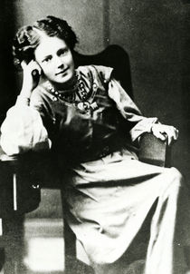 Mary Eleanor Gawthorpe c.1909 von English Photographer