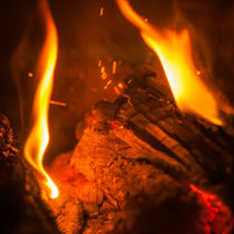Fire with sparks by vasa-photography