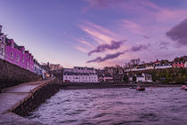 Looking towards the town from the jetty at Portree Harbour, Isle of Skye by Bruce Parker