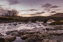 The Old Bridge at Sligachan, Isle of Skye, Scotland von Bruce Parker