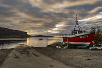 View looking west north west from Stein Slipway, Isle of Skye, Scotland von Bruce Parker