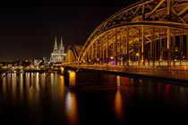 Hohenzollernbrücke by Stephan Habscheid