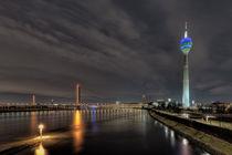 Düsseldorf Rheinpano von Stephan Habscheid