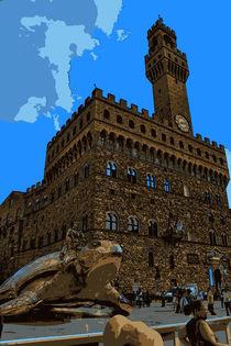 Palazzo Vecchio Florenz von Frank Voß