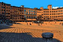 Siena Piazza del Campo von Frank Voß