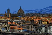 Panorama Florenz  von Frank Voß