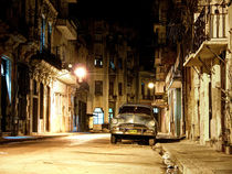 at night in la habana by Jens Schneider