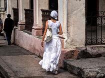 eine der Damen in Weiß, Las Damas de Blanco von Jens Schneider