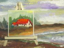 Ein Haus am See von Norbert Hergl