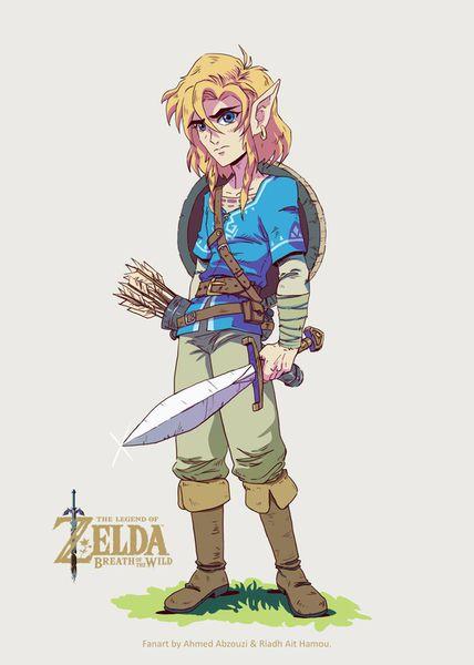 Link-the-legende-of-zelda-ahmed-riad-2017