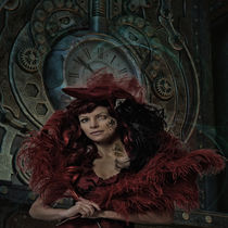 Victorian Steampunk Lady by lucia