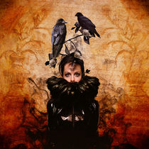 Crow Woman In Modern Times by lucia