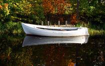 Weißes Boot by eksfotos