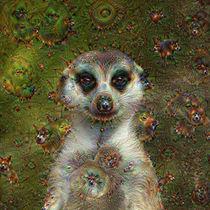 DeepDream – Erdmännchen mit Traumgeschöpfen von schroeer-design