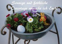 Sonnige und fröhliche Ostertage wünsche ich Euch! von Simone Marsig