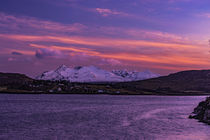 Cuillin Hills Mountain Range, across Loch Portree, on the Isle of Skye 4 by Bruce Parker